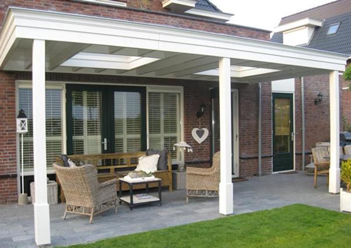 Plaatsen van een overkapping veranda aan het huis werkspot - Amenager een voorgerecht van het huis ...