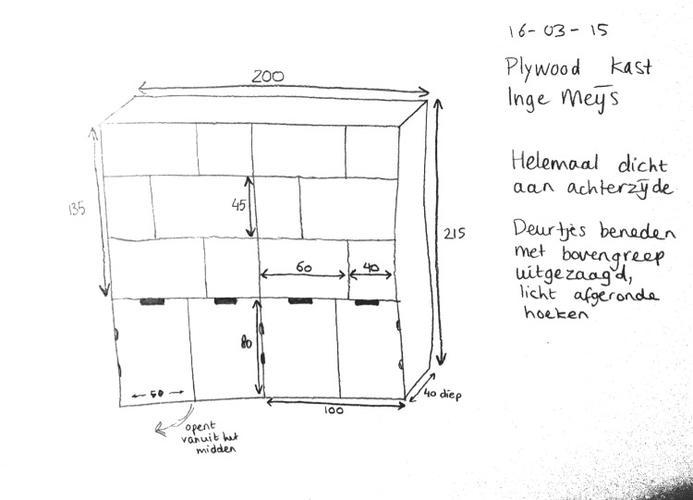 Underlayment kast maken - Werkspot