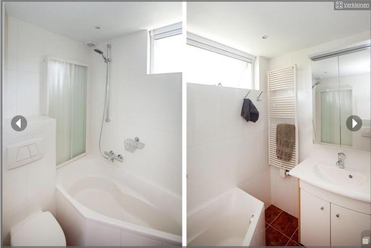 Renovatie van kleine badkamer, bad verwijderen, inloopdouche ...