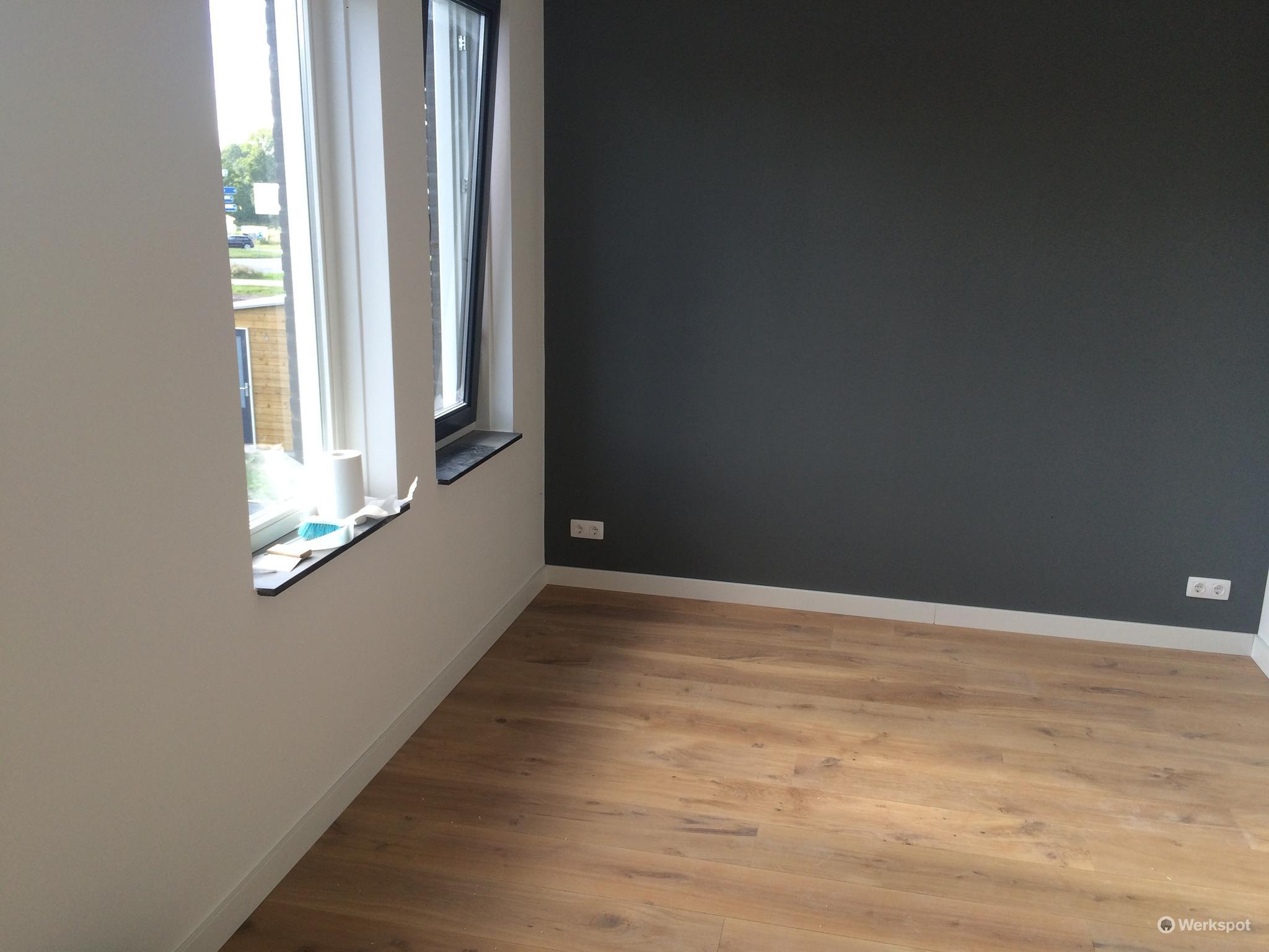 Nieuwbouw ca 300 m2 te utrecht renovlies latex verf for Renovlies behang aanbrengen
