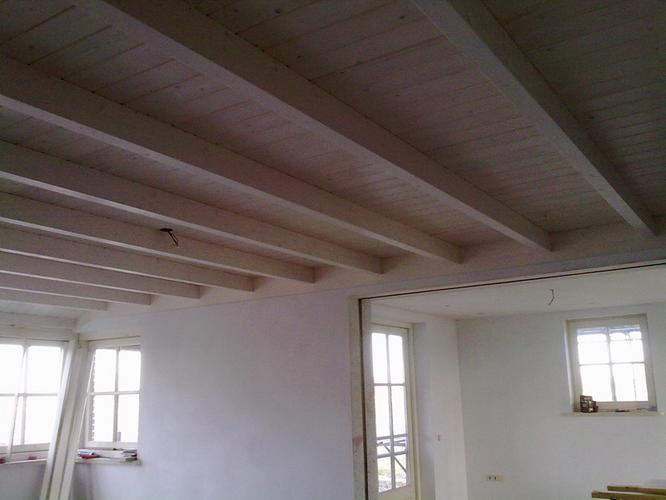 Balken plafond werkspot - Houten balkenplafond ...