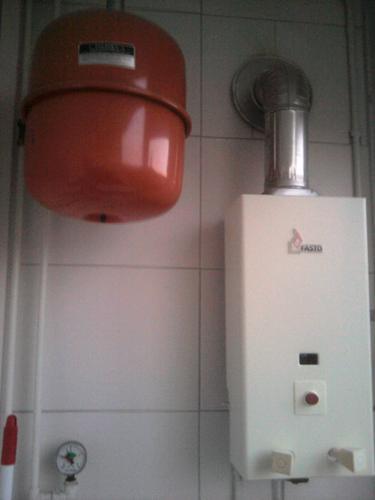 vervangen van moederhaard en geiser door cv ketel - werkspot, Badkamer