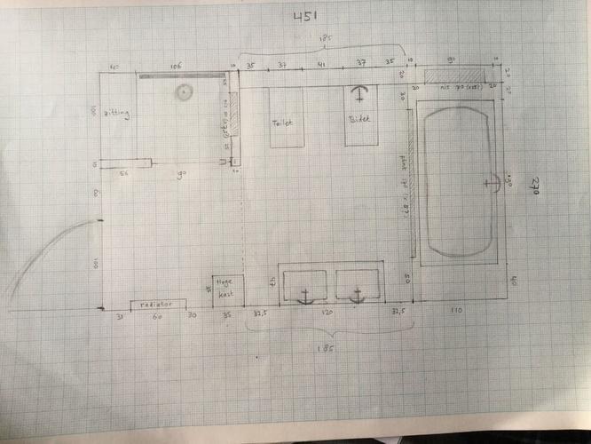 Vloerverwarming Badkamer Retourleiding : Badkamer plaatsen op eerste verdieping en toilet op begane grond