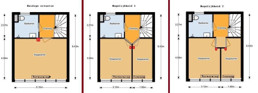 Grote slaapkamer splitsen in 2 kleine kamers - Werkspot