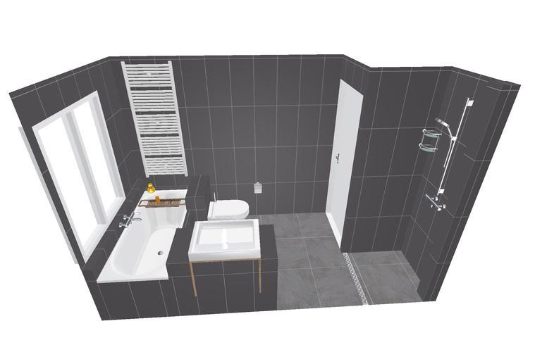 Badkamer verbouwen haarlem 3 7 x 1 8 meter werkspot