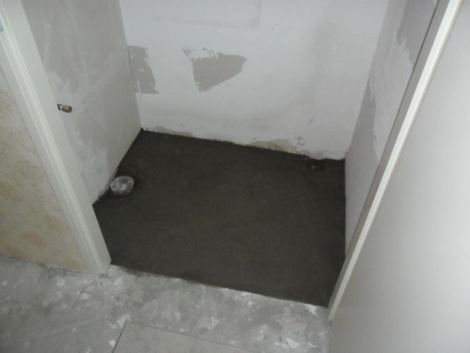 Badkamer en toilet zand cement vloer storten werkspot