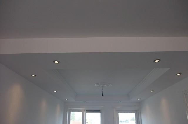 Verlaagd plafond met spotjes werkspot