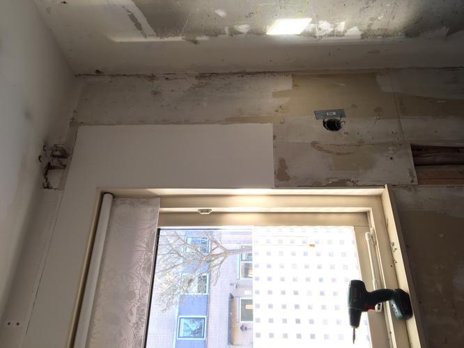 Spoed cv leiding kickspace radiator keuken verplaatsen wegwerken
