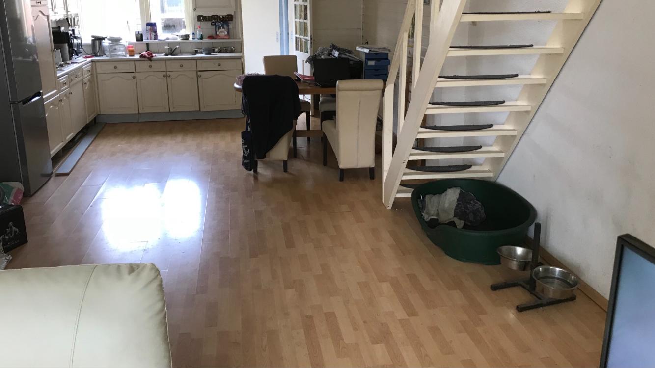 Houten vloer vervangen: simpel houten vloer vervangen door