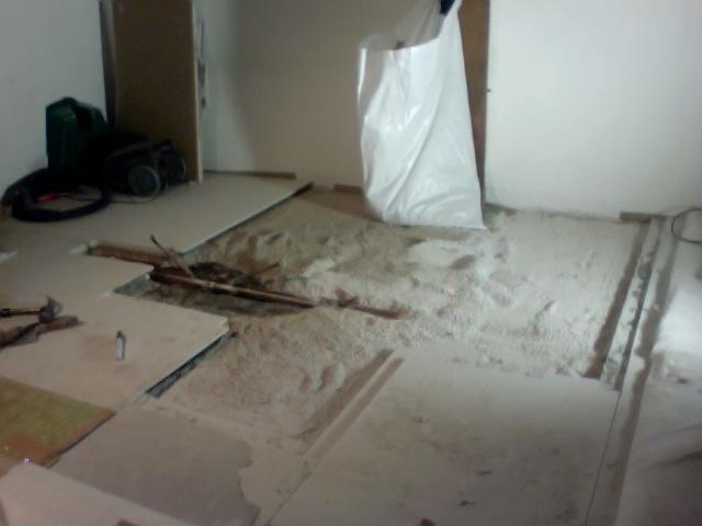 fermacell estrich vloer deels vervangen werkspot. Black Bedroom Furniture Sets. Home Design Ideas