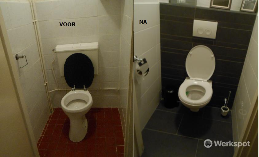 Staand Toilet Vervangen : Vervangen staand toilet door hangend toilet werkspot