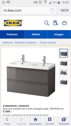 Wastafel En Kast.Ikea Wastafel Kast Monteren Werkspot