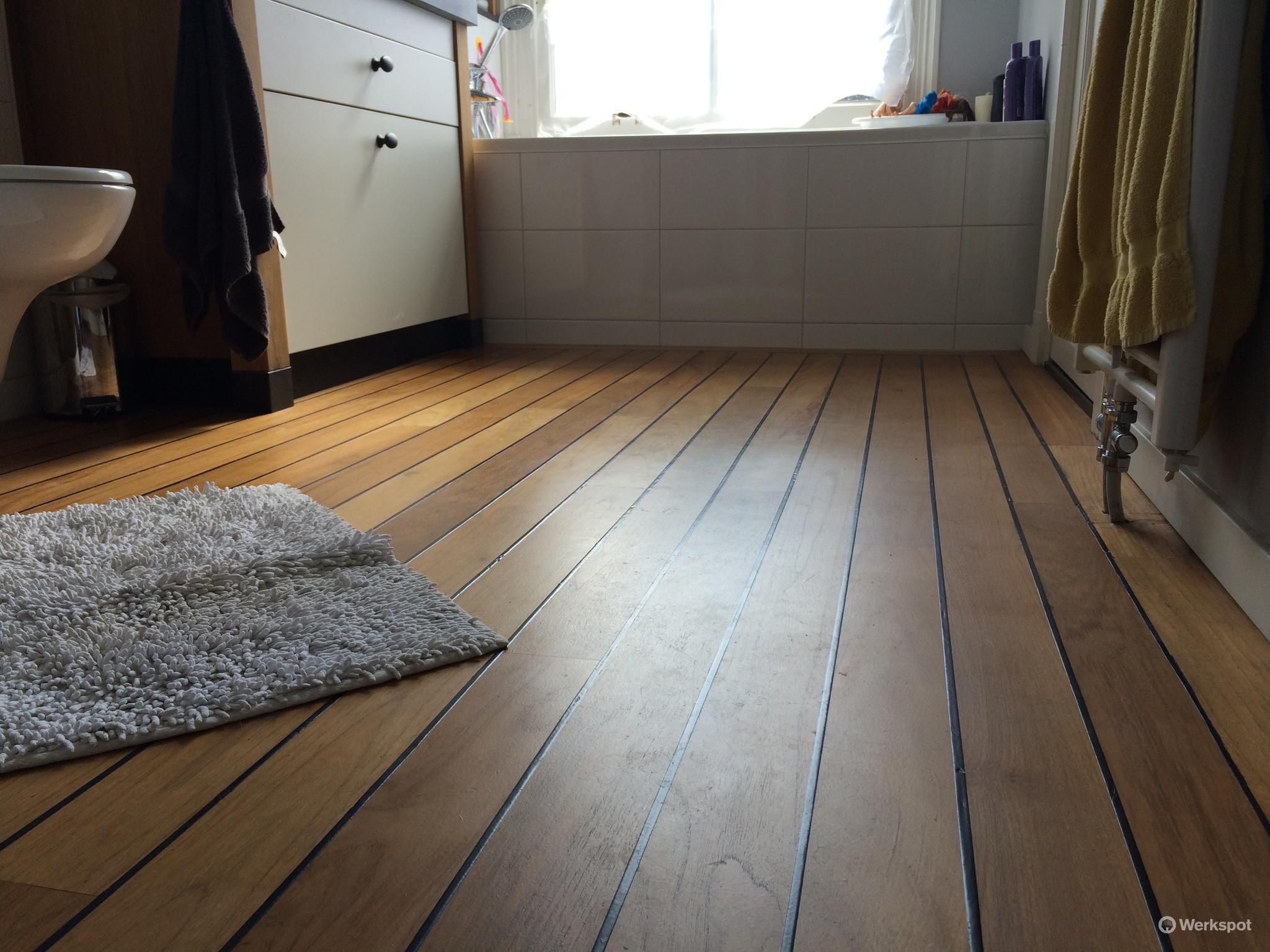scheepsdekvloer voor badkamer werkspot