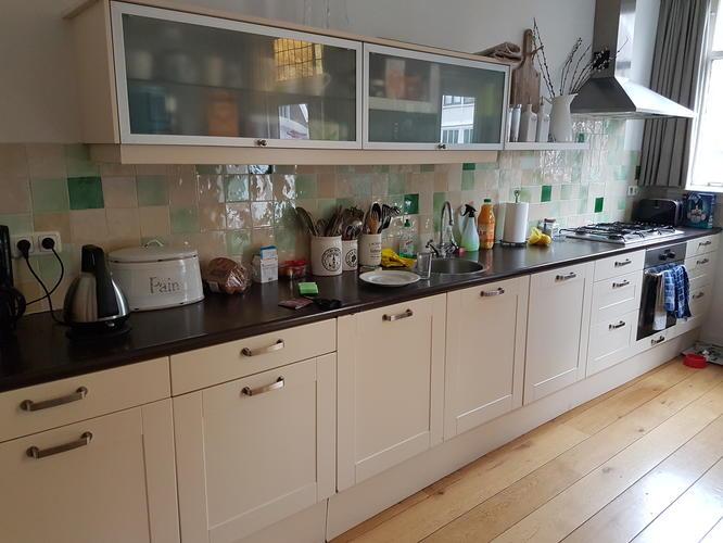Nieuwe Deurtjes Keukenkastjes.Keuken Voorzien Van Nieuwe Deurtjes Bijbehorende