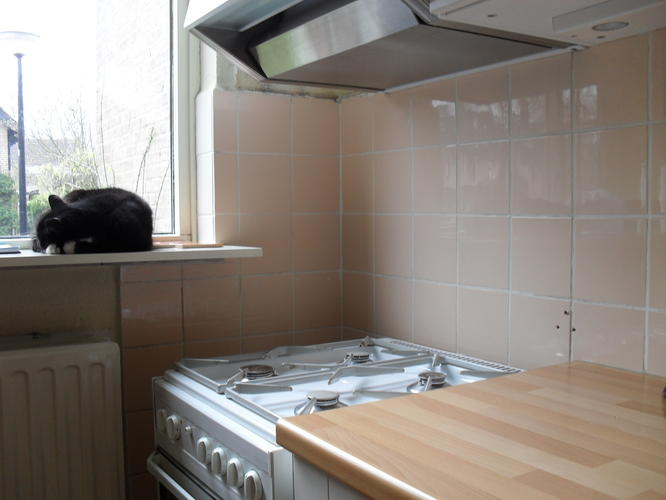 Oude keuken tegels fris badkamer vloertegels verven trending