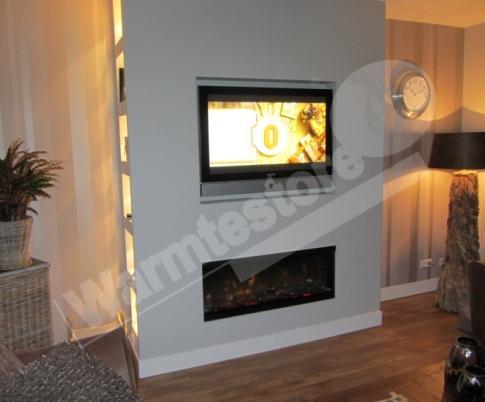 Sfeerhaard Tv Meubel : Tv meubel met electrische sfeerhaard werkspot