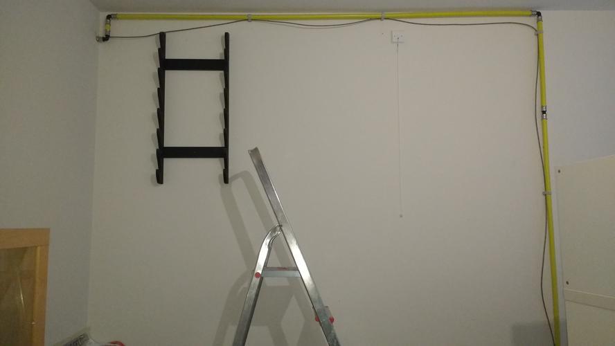 koof maken om gasleiding in 2 slaapkamers - Werkspot