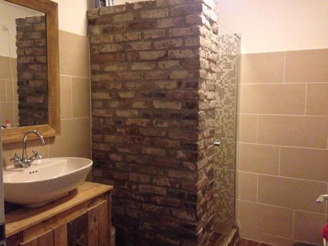Muur douche. cheap vrijstaande wand with muur douche. simple