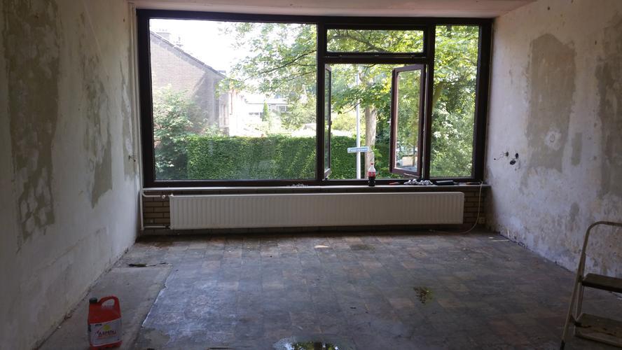 Asbest zeil verwijderen woonkamer 40m2 - Werkspot