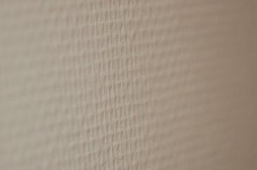 Muren met vliesbehang verven werkspot for Glasweefselbehang glad