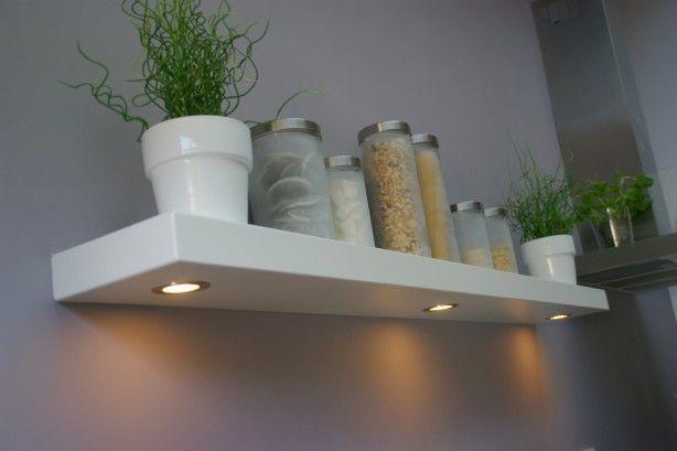Blinde wandplank met verlichting - Werkspot