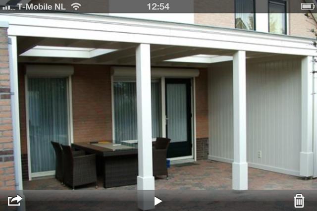 Houten veranda aan de woning werkspot - Idee huis uitbreiding ...