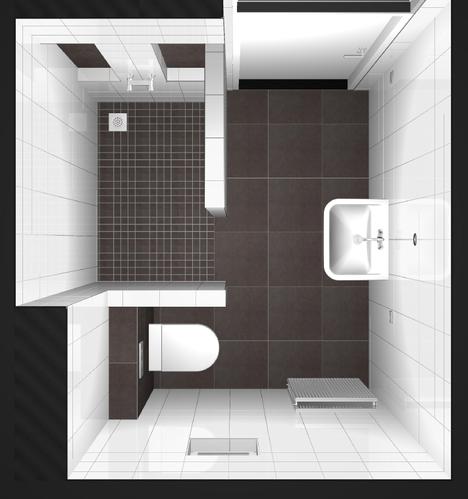 badkamer muurtje - werkspot, Badkamer
