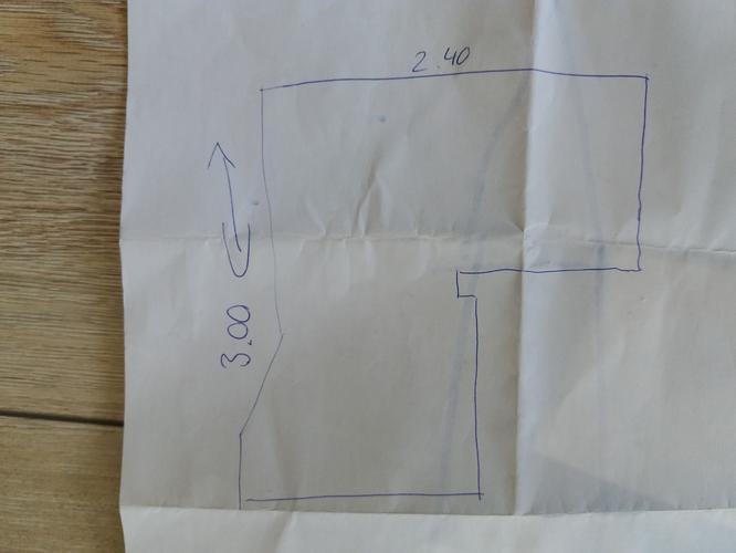 Vinyl /zeil leggen badkamer 7m2 en kitten - Werkspot