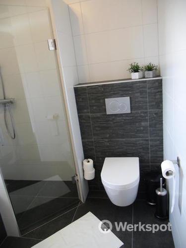 Voorbeeld toilet tegels for Tegels wc voorbeelden
