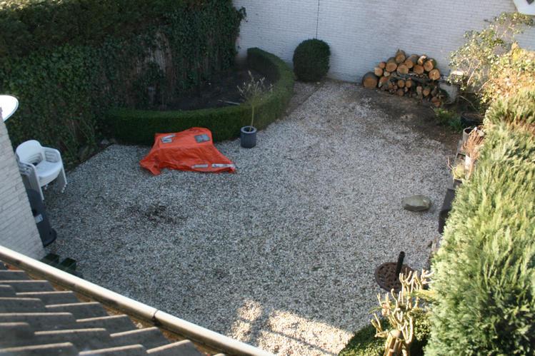Grind verwijderen tuin