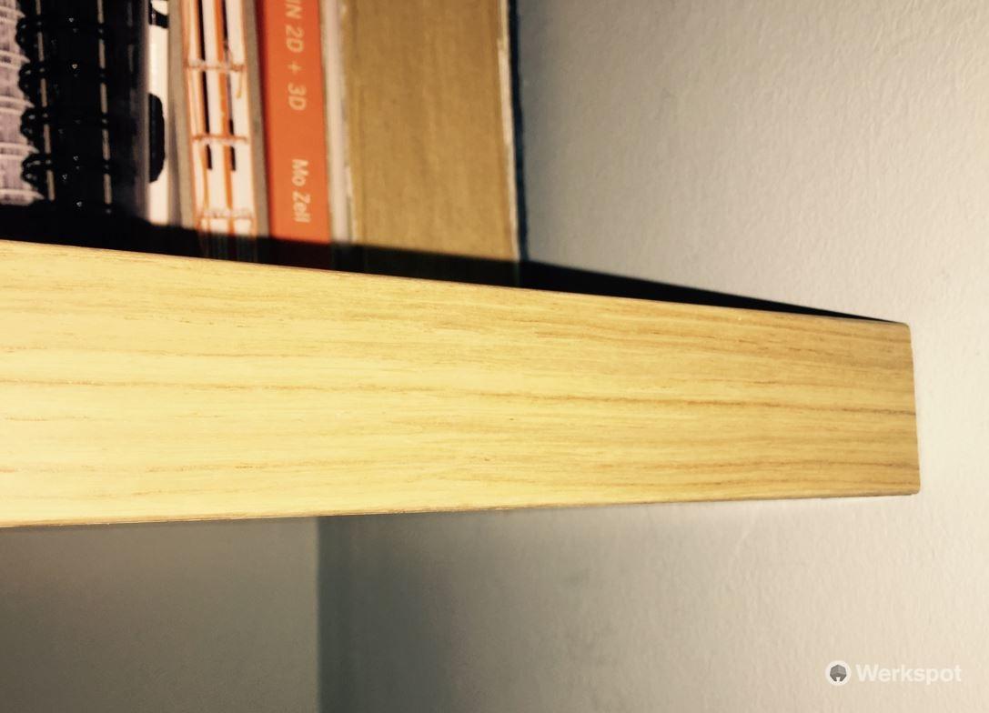 Kast Met Nisjes : Boekenplanken op maat maken en bevestigen in nisje werkspot
