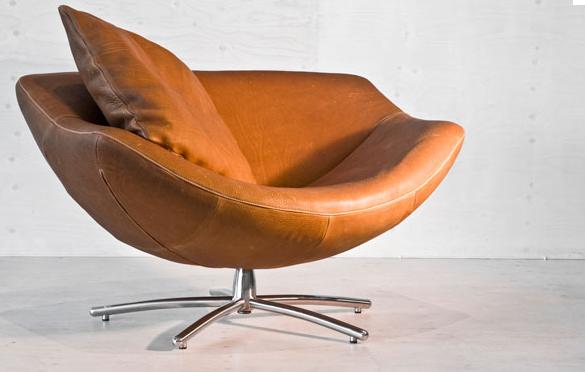 Fauteuil bruin great duverger butterfly fauteuil bruin leer xxcm