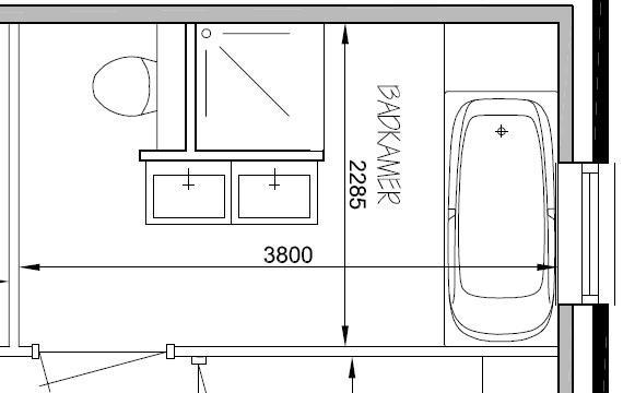 Beton cire stucwerk in badkamer - Werkspot