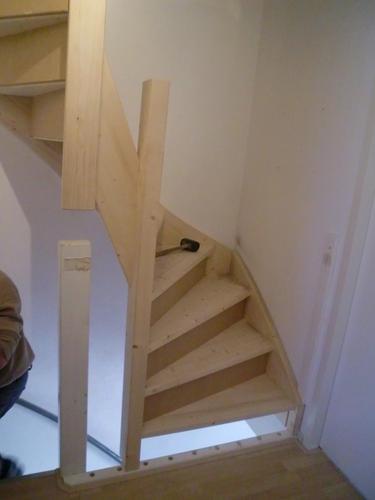vaste trap naar zolder maken werkspot
