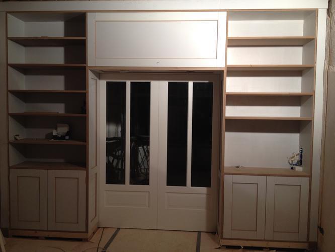 Kast Badkamer Schilderen : Schilderen binnen kamer en suite kast en deuren openslaande