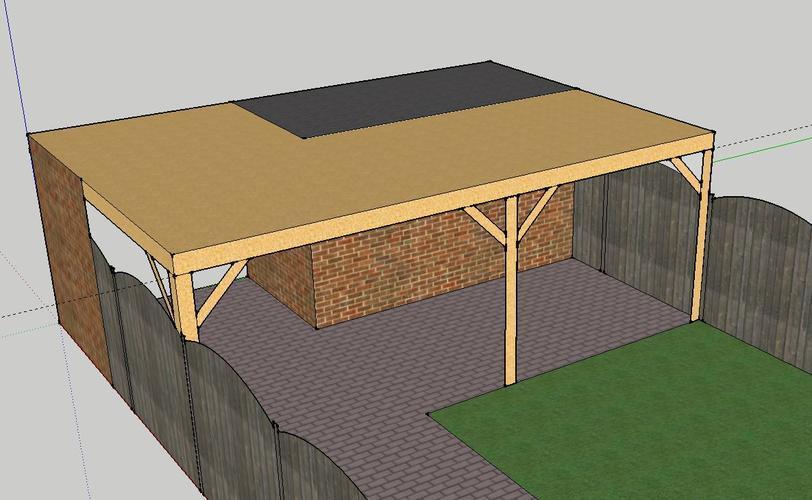 Veranda Met Schuur : Overkapping veranda aan schuur bouwen werkspot