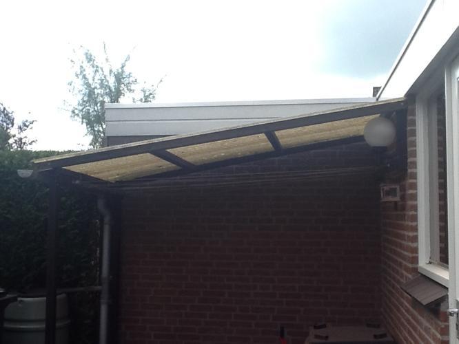 Genoeg Vervangen golfplaten dak van afdakje - Werkspot &NT59