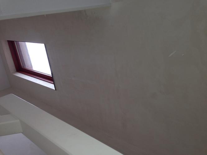 Behangen trappenhuis muur hoogte cm werkspot