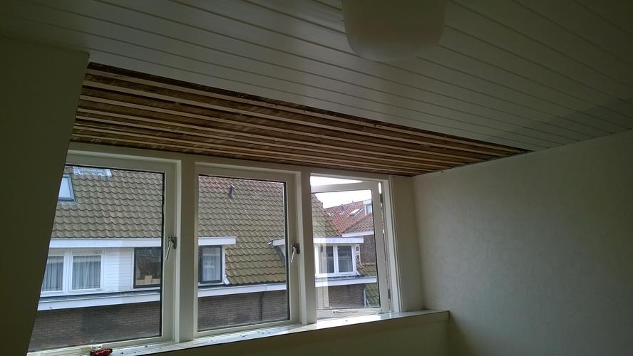 plaatsen gipsplaat plafond slaapkamer 11,5 m2 - Werkspot