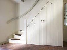 Open trap dichtmaken en kast onder de trap verplaatsen for Dichte trap maken