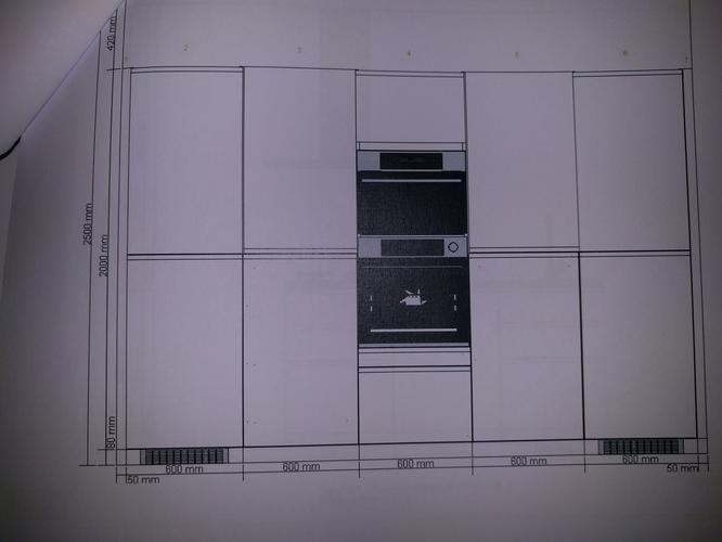 dichte ikea keukenwand plus kookeiland installeren werkspot. Black Bedroom Furniture Sets. Home Design Ideas