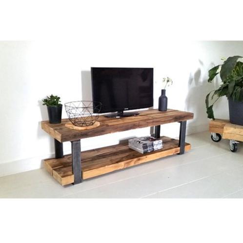 Tv Meubel Plank.Tv Meubel 2 Houten Planken Werkspot