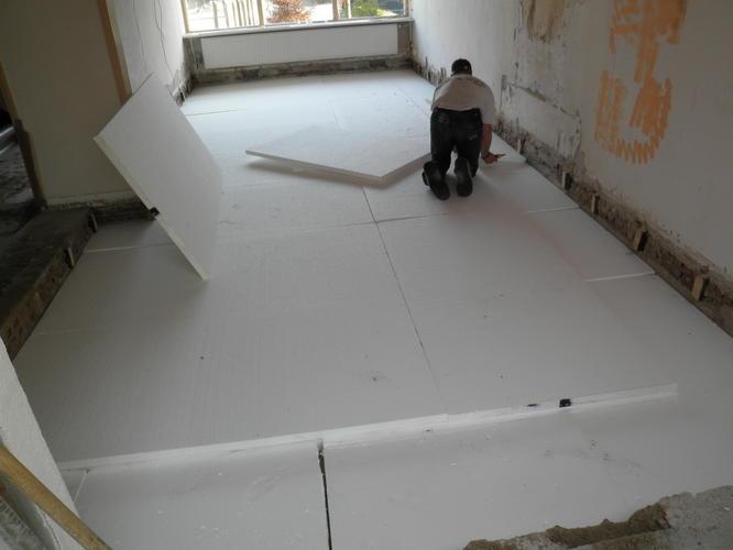 Vervangen houten vloer door betonnen vloer werkspot