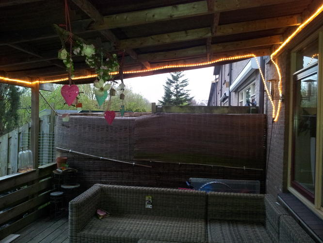 Geliefde zijkant van de veranda dicht maken met hout - Werkspot @FQ94