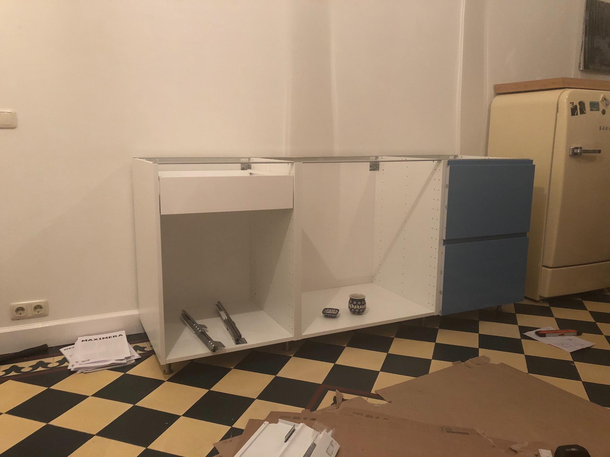 Ikea keuken onderkasten stellen stuks van cm en van