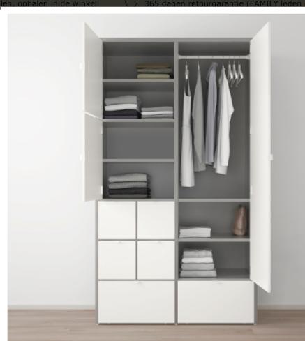 Ikea Kleding Kast Vistus In Elkaar Zetten Werkspot