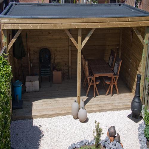 Bouwen prieel in tuin werkspot - Prieel tuin ...