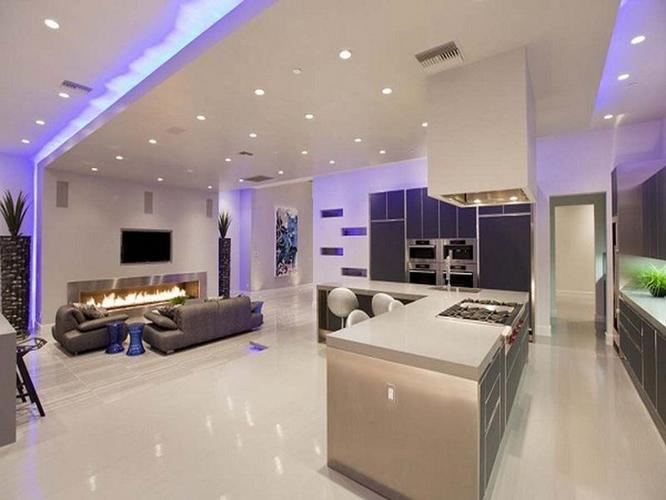 Verlaagd plafond maken in badkamer en voorzien van LED verlichting ...
