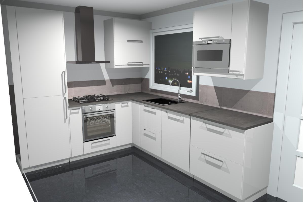 L Vorm Keuken : Plaatsen keuken ikea l vorm werkspot