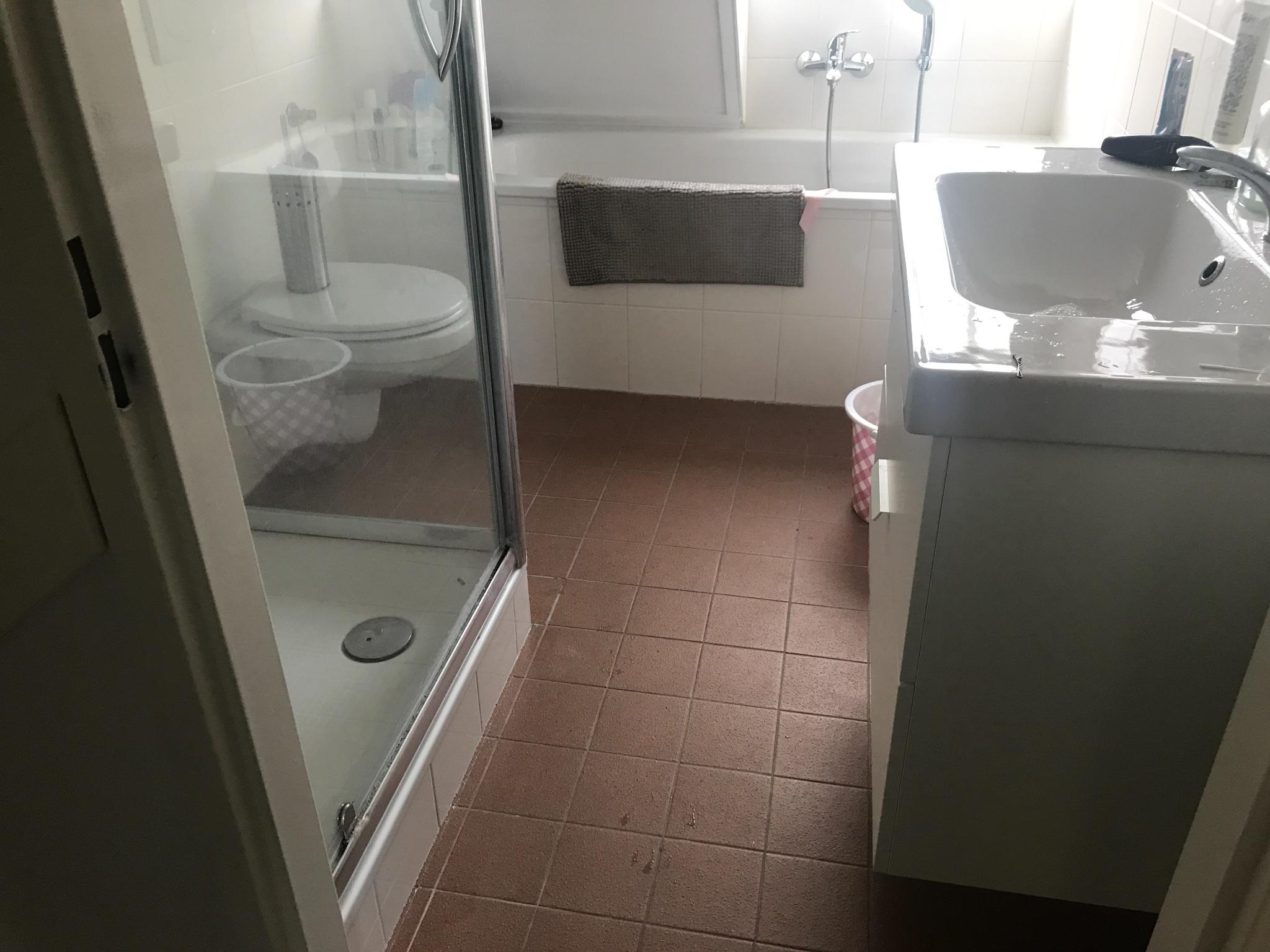 Badkamer en wc vloer kitten werkspot